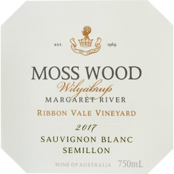 Moss Wood 2017 Ribbon Vale Semillon Sauvignon Blanc - Bordeaux Blends White Wine found on Bargain Bro India from Wine.com for $27.99