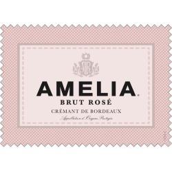 Amelia Brut Rose Cremant de Bordeaux - Champagne & Sparkling