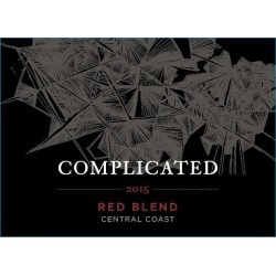 Taken Wine Company 2015 Complicated Red Blend - Rhone Blends Red Wine