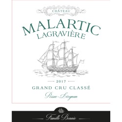 Chateau Malartic-Lagraviere 2017 Blanc (Futures Pre-Sale) - Bordeaux Blends White Wine found on Bargain Bro Philippines from Wine.com for $64.97
