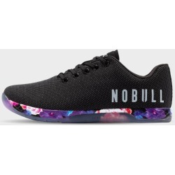 NOBULL Black Space Floral Trainer found on Bargain Bro UK from WIT Fitness