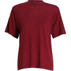 T-Shirt Knit-Burgundy-1 found on Bargain Bro UK from ZIMMERMANN (UK)