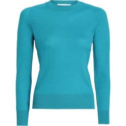 Saddle Shoulder Sweater-Turquoise-2 found on Bargain Bro UK from ZIMMERMANN (UK)