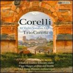 corelli 12 violin sonatas op 5
