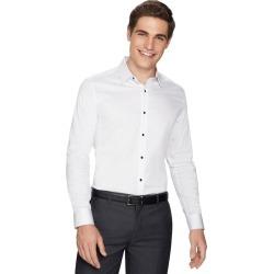yd. Hutton Slim Fit Dress Shirt White M