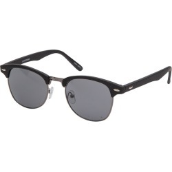 yd. Retro Mat Black Sunglasses Black 1