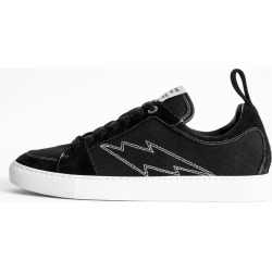 ZV1747 Canvas Sneakers found on Bargain Bro UK from Zadig & Voltaire