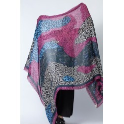 Maxy Patchwork Coeurs Scarf found on Bargain Bro UK from Zadig & Voltaire
